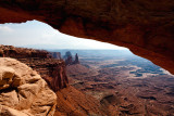View Through Mesa Arch