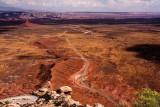 Moki Dugway Hwy 261 From Natural Bridges NP To Mexican Hat, Utah