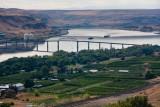 Columbia River & Sam Hill Memorial Bridge