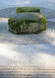 39 rocks moss sand light