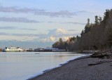 owen beach, mt rainier, vashon ferry