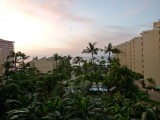 The view from our condo ....