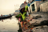 On Ganges River Bank  | Varanasi, India