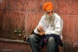 Sitting Man | Delhi, India