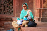 Woman and her Baby | Agra, India