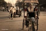 Street at Old Delhi