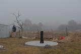 Observatory day - a misty start