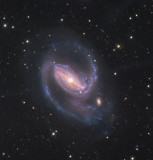 NGC 1097 Galaxy with faint jets