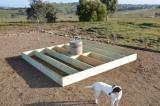 Deck frame base