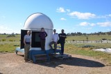Observatory erected at new site - Terroux