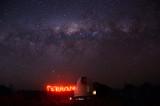 Milky Way over Terroux Observatory