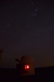 Orion and Taurus over Terroux Observatory