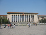 Tian'anmen square - Palais de l'assemblee du peuple