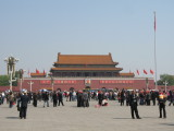 Tian'anmen square - Forbidden city
