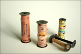 Exposed and unused films and spools from ebay