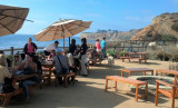 Lunch on the breathtaking terrace of Nelson's in Rancho Palos Verdes.