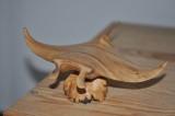 Wooden Manta ray