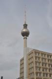 TV-Tower at  Alexanderplatz