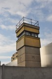 Watch tower at the Berlin Wall