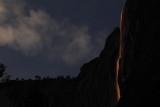Yosemite Horse Tail Waterfalls Lightshow - 02/19/16