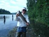The Last Frontier... Alaska - Salmon River Fishing - 7/17/16