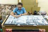 Drawing Guernica, Ceramics factory, Saigon