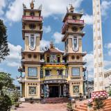 Cao Dai Temple, Mekong Delta