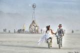 Wedding at Burning Man