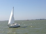 Gouwzee between Marken and Volendam