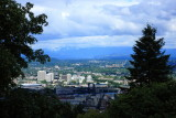 Portland, Oregon from the Japanese Garden
