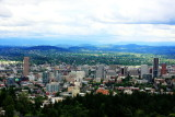 View of Portland Oregon from OHSU