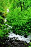 Wahkeena Falls, Benson State Recreation Area,  Columbia River Gorge National Scenic Area, Oregon