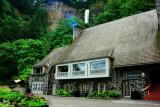Multnomah Falls Visitors Center, Columbia River Gorge National Scenic Area, Oregon