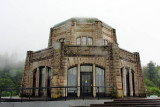 Vista House, Crown Point State Park, Columbia River Gorge National Scenic Area, Oregon