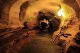Underground passageways, New Entrance Tour, Mammoth Cave National Park, Kentucky