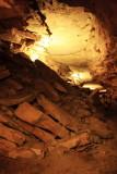 Cavernous rooms, New Entrance Tour, Mammoth Cave National Park, Kentucky