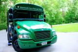 Propane powered bus, Mammoth Cave National Park, Kentucky