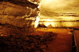 Rotunda room, Historic tour, Mammoth Cave National Park, Kentucky