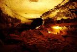 Cavernous rooms, Historic tour, Mammoth Cave National Park, Kentucky