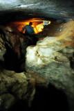Fat Man's Misery, Historic tour, Mammoth Cave National Park, Kentucky
