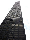 John Hancock building, Chicago, Black and White