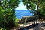 Bench, Biscayne National Park, Florida