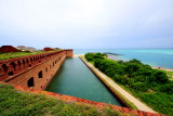 Tower Bastion and moat, Dry Tortugas National Park, Florida