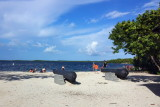 Cannon, John Pennekamp Coral Reef State Park, Florida Keys