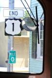 End of the Road, Mile Marker 0, U.S. Route 1,  Key West, Florida Keys