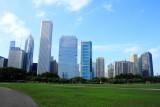 Chicago skyline from Grant Park