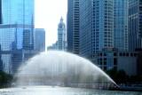 Chicago river, Wrigley building, Chicago
