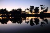Sunset, Sunset Lakes Resort, Joslin, IL