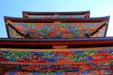 Pagoda roofs, Narita-san Shinshō-ji Temple, Narita, Japan