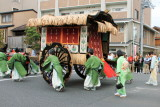 Ox-cart, Toyotomi family (1568 - 1600), Azuchi Momoyama Period, Jidai Matsuri Festival, Kyoto, Japan